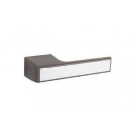 Дверная ручка TUPAI MELODY Vario 3089RT Титан, вставка 16 нержавеющая сталь