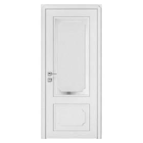 Дверь RODOS Cortes Selena со стеклом белый матовый