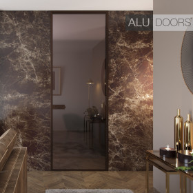 Дверь ALUDOORS Light распашная