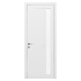 Дверь RODOS Loft Arrigo полустекло белый мат
