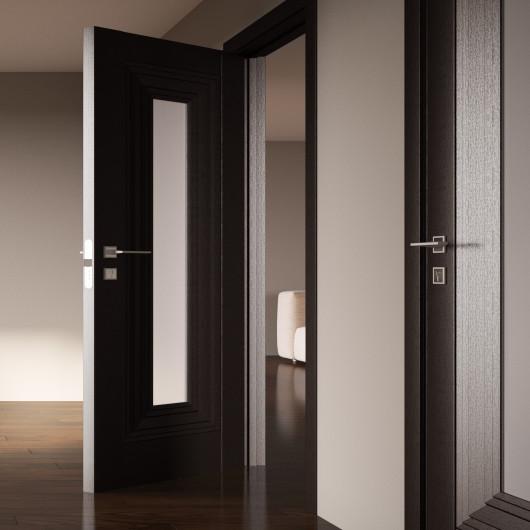 Дверь RODOS Diamond Franceska со стеклом
