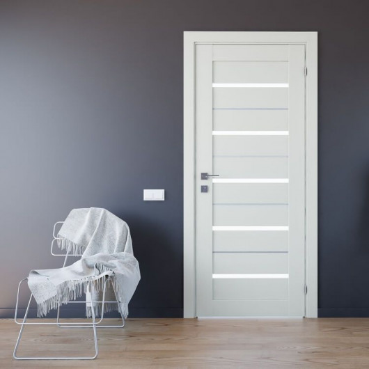 Дверь RODOS Modern Lazio полустекло