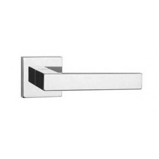Дверная ручка TUPAI SQUARE 2275Q Полированный хром