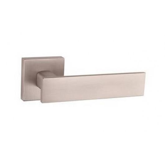 Дверная ручка TUPAI LINA 2 2730Q Матовый никель