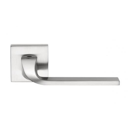 Дверная ручка Colombo Isy BL 11 Матовый хром ф/з (роз. 6 мм)