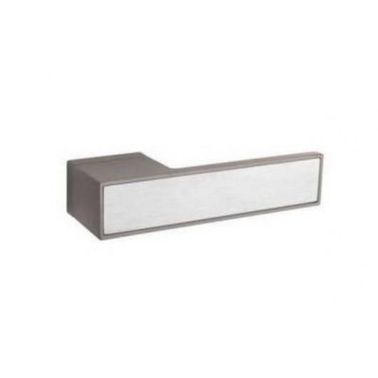 Дверная ручка TUPAI BIG 3084RT Титан, вставка 16 нержавеющая сталь