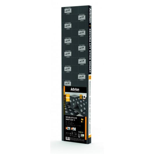 Подложка гармошка Arbiton Secura LVT Click Smart Easy N 1 мм модифицированный XPS/PET
