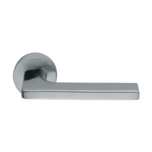 Дверная ручка Colombo Gira JM 11 Матовый хром R ф/з