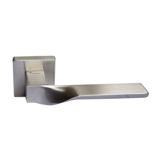 Дверная ручка SYSTEM SPINAL Матовый никель