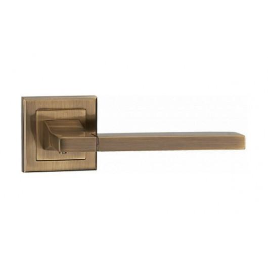Дверная ручка LINDE Furnitura QOOB Старая бронза
