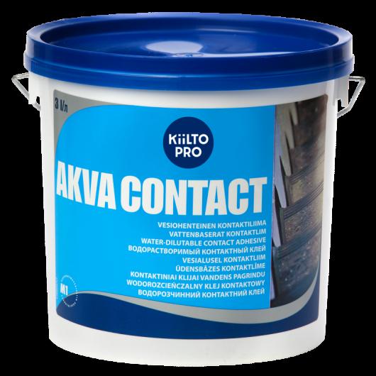 Клей водорастворимый контактный Kiilto Akva contact