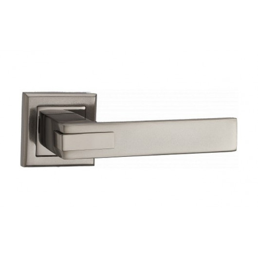 Дверная ручка MVM Furniture QOOB Черный никель/матовый черный никель