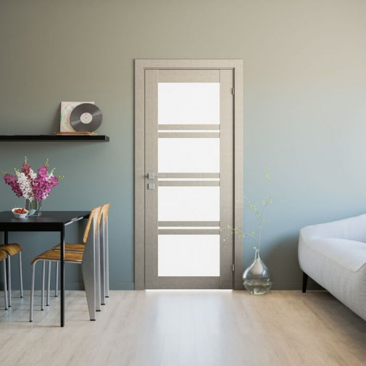 Дверь RODOS Modern Quadro со стеклом