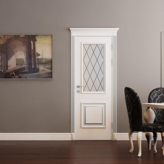 Дверь RODOS Siena Laura со стеклом