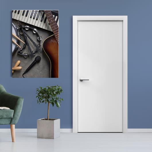Дверь Sensa Simple белый мат
