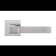 Дверная ручка LINDE Furnitura Grotti Матовый хром