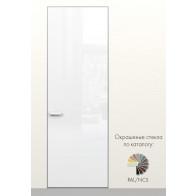 Скрытая дверь Secret Doors со стеклом White