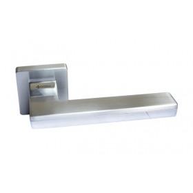 Дверная ручка SYSTEM LARISSA Хром/матовый хром