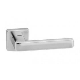 Дверная ручка SYSTEM GAMMA Брашированный матовый хром