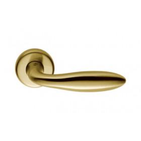 Дверная ручка Colombo Mach CD 81 Матовое золото R ф/з