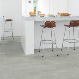 Виниловый пол Quick-Step Ambient Glue Plus AMGP40050 Бетон Теплый Серый