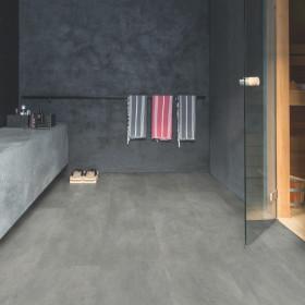 Виниловый пол Quick-Step Ambient Glue Plus AMGP40051 Бетон Темно-серый