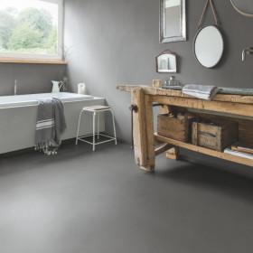 Виниловый пол Quick-Step Ambient Glue Plus AMGP40140 Минимальный Умеренно-серый