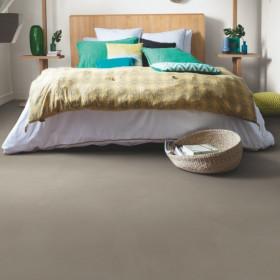 Виниловый пол Quick-Step Ambient Glue Plus AMGP40141 Минимальный Серо-коричневый