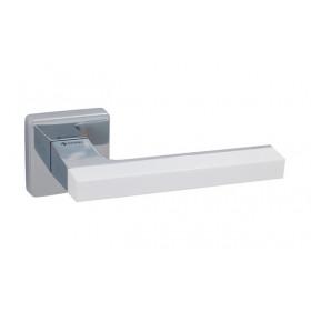 Дверная ручка SYSTEM AZUR Хром/белый