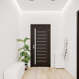 Дверь RODOS Modern Bianca полустекло