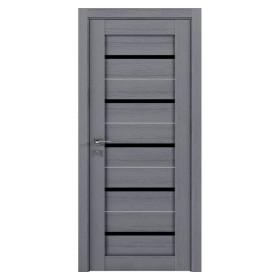 Дверь RODOS Modern Lazio BLK New полустекло