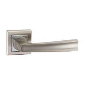 Дверная ручка MVM Furniture A-1355 Матовый никель/полированный хром