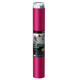 Подложка Arbiton Optima Thermo Aquastop 1,5 мм PEHD + пароизоляция + скотч