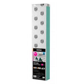 Подложка гармошка Arbiton Secura Aquastop Smart 2,2 мм XPS + пароизоляция + скотч
