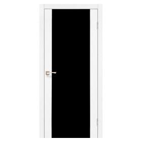 Дверь KORFAD Sanremo SR-01 с черным стеклом