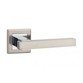 Дверная ручка MVM Furniture Loft Матовый никель/полированный хром