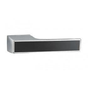 Дверная ручка MVM Furniture Z-1440 MOC/BLACK Матовый старый хром/черный