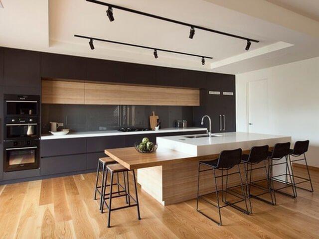 Полы в кухню