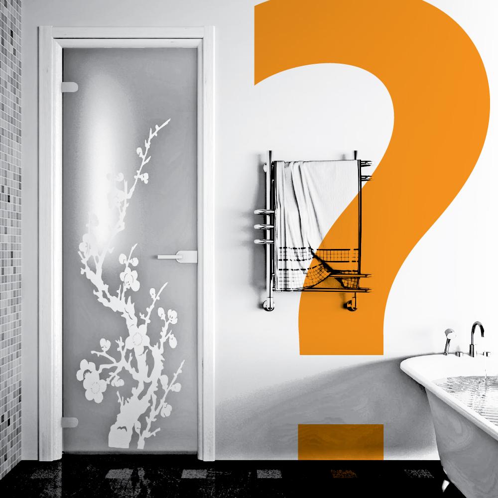 Как выбрать дверь для ванной комнаты?