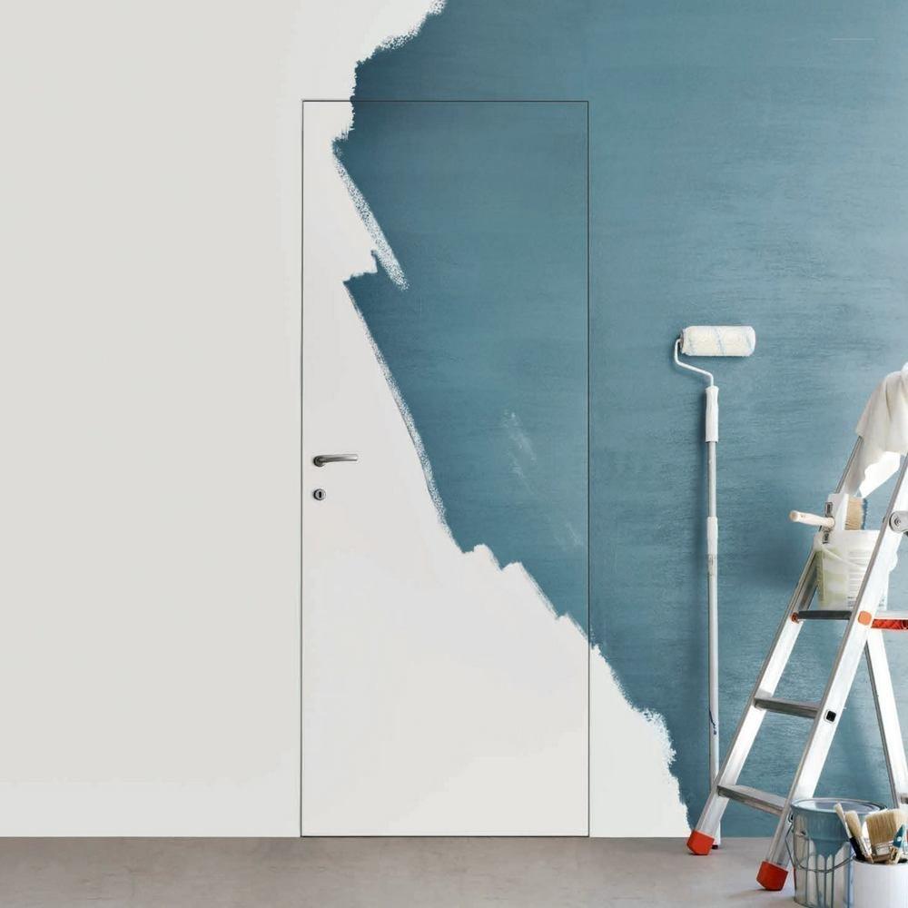 Выбор цвета дверей и напольных покрытий при дизайне жилых помещений