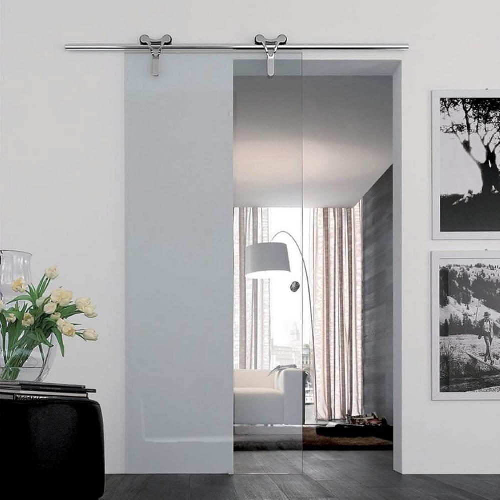 Стеклянные двери в современном интерьере