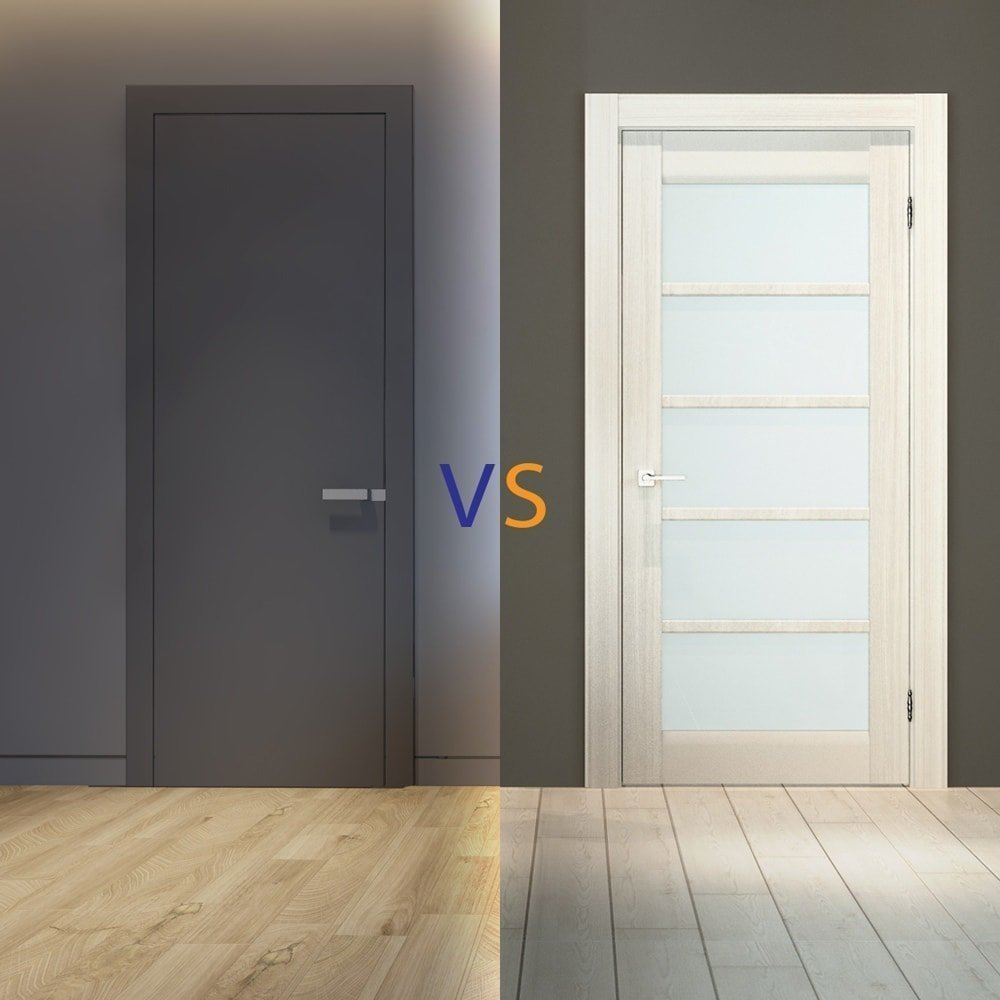 Модерн или хай-тек двери: разновидности и преимущества