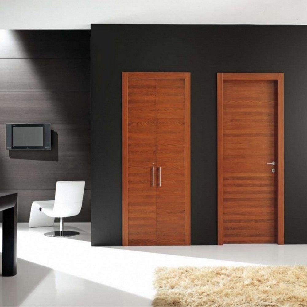 Шпонированные двери: их основные преимущества