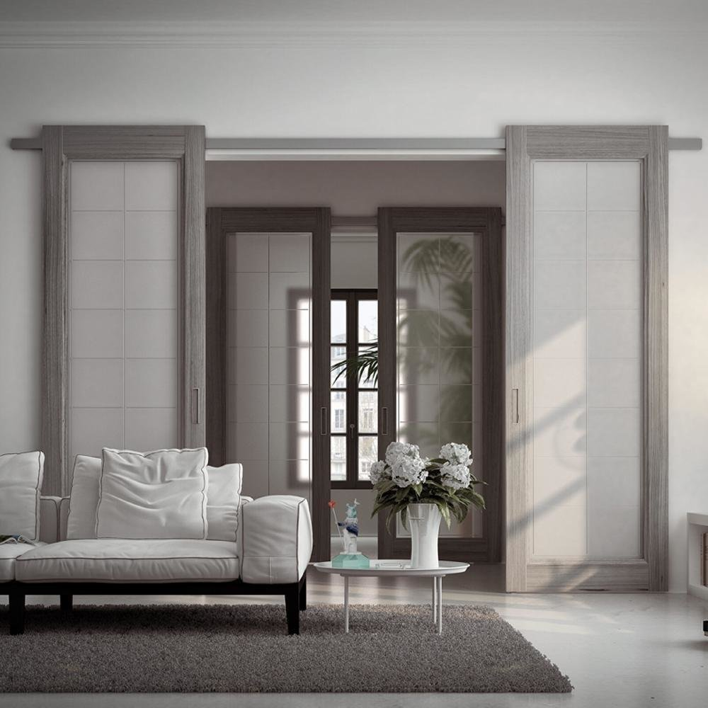 Раздвижные двери - виды, особенности, преимущества