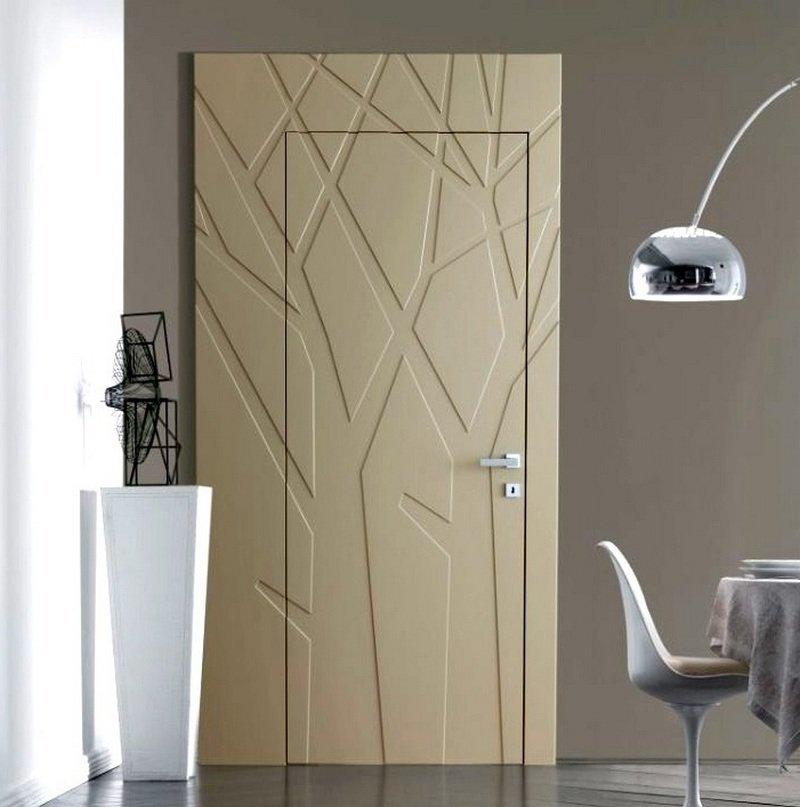 межкомнатные окрашенные двери