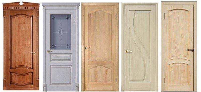фото деревянные двери