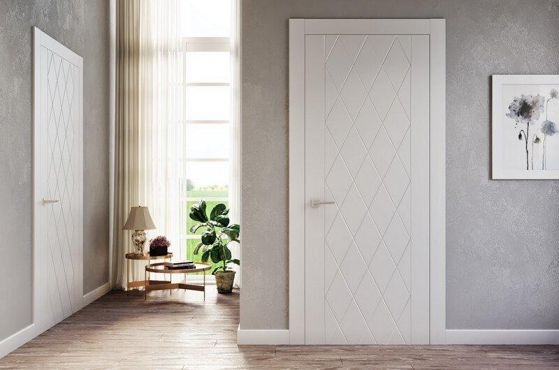 креативные двери