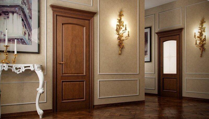 цвет межкомнатных дверей под напольное покрытие