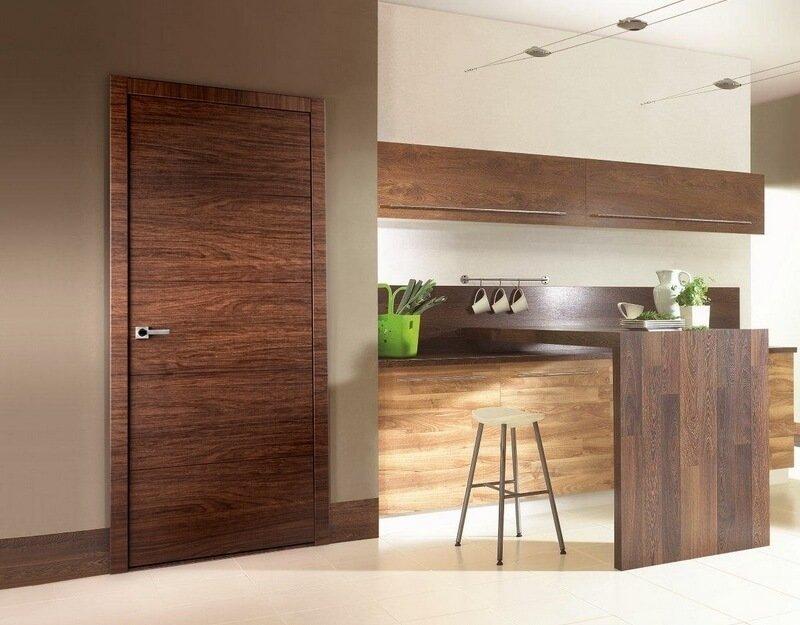 как выбрать цвет межкомнатных дверей Holz